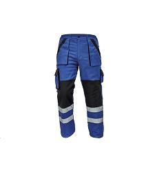 Montérkové kalhoty MAX REFLEX WINTER pánské zimní do pasu modro-černé