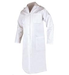 Plášť ERIK pánský s dlouhým rukávem bílý
