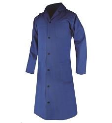 Plášť ELIN dámský s dlouhým rukávem modrý