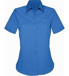 Košile dámská s krátkým rukávem JUDITH 65% PES,35% BA K548