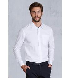 Košile pánská s dlouhým rukávem 100% BA popelín K541