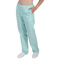 Kalhoty dámské do gumy vz.471.0700, zelené mentol  2 kapsy