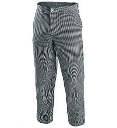 Kalhoty KAREL PEPITO řeznické kepr pepito 100% bavlna 210g/m2