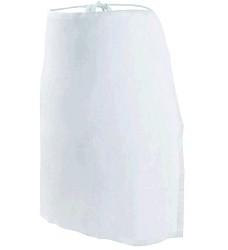 Zástěra LENA 1106 do pasu bílá
