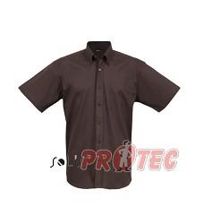 Pánská košile BROOKLYN ,krátký rukáv,100%BA