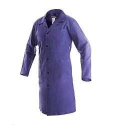 Plášť VENCA pánský s dlouhým rukávem 3 kapsy modrý