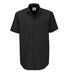 Pánská košile,krátký rukáv 0P42 100% B&A  Heritage SSL