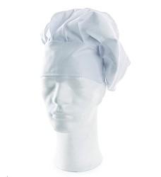 Kuchařský baret LUDVA 100% bavlna 190 g/m2 bílý