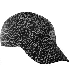 Kšiltovka SALOMON REFLECTIVE CAP black