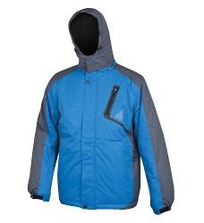 Zimní bunda YORK H2148 pánská zateplená voděodolná, modrá