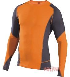 Souprava spodního prádla dvoubarevná VISBY DOPRODEJ - triko s dlouhým rukávem + spodky