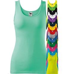 Tílko TOP TRIUMPH dámské, přiléhavý střih, 95% bavlna / 5 % elastan, mix barev