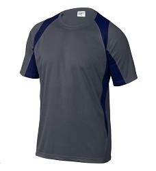 Triko BALI pánské, rychleschnoucí materiál, 100% polyester 160 g/m2, šedá/navy