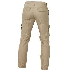 Kalhoty TANANA pánské, moderní střih, DOPRODEJ, 100% bavlna, běžové