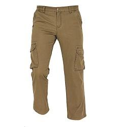 Kalhoty RAHAN pánské zateplené, svrchní materiál 100 % bavlna kanvas 235 g /m2, olivové