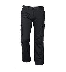 Kalhoty CHENA pánské outdoorové, 100% bavlna, černé