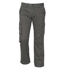 Kalhoty CHENA pánské outdoorové, 100% bavlna, šedé