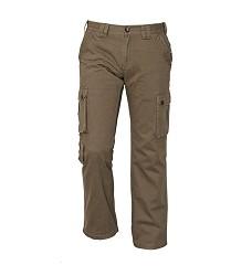 Kalhoty CHENA pánské outdoorové, 100% bavlna, olivové