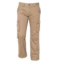 Kalhoty CHENA pánské outdoorové, 100% bavlna, béžové