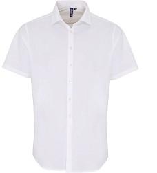 Košile K529 strečová pánská s dlouhým rukávem mix barev