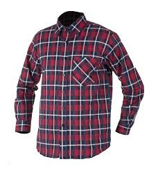 Flanelová košile JONAH H13086 červená 100% bavlna