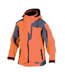 Dětská softshellová bunda ANDY H2051, oranžová