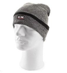 Čepice IVAN zimní šedo-černé