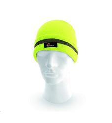 Čepice KEADY VW21502 reflexní zimní pletená žlutá