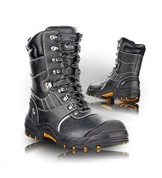 obuv GLASGOW 2390-S3 poloholeňová bezpečnostní s ocelovou tužinkou a planžetou, hydrofobní