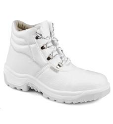 Kotníková obuv Araukan O2  940 1010 02, bílá