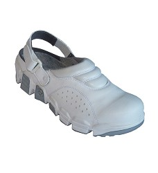 Sandál pracovní VIPERA 01 S14492 bílá barva , podešev SNAKE bez ocelové špice