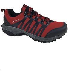 Obuv FEET G3211 sportovní softshellová obuv červená