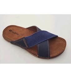 Pantofle INBLU GG 11-004 pánské modré