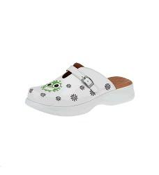 Pantofle PEON RK/002-5 dámské bílé