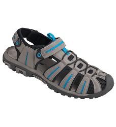Obuv BEACH BLUE sandál s uzavřenou špicí šedo/modré