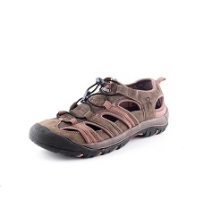 Obuv SAHARA kombinované outdoorové sandále hnědé