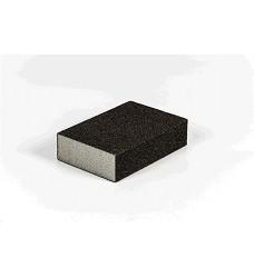 Houbička brusná zr.080 čtyřstranná 100x70x25mm