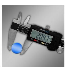Měřítko posuvné 150 mm digitální