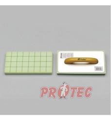 Hladítko PROTEC molitan raster (řezaný) pro obkladače 280x140x30mm nerez