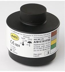 Filtr kombinovaný  A2-P3 D R,  AVEC,  AFC122025, 1 kus