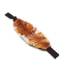 Ledvinový pás kožešinový na suchý zip