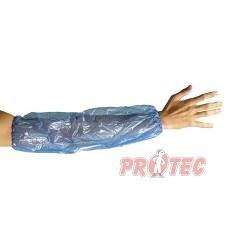 Návlek na paži  ALWAR, modrý polyethylen, 20x50cm , bal./100ks