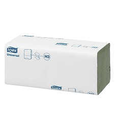 TORK 290135 ručníky papírové ZZ zelené 4000ks 1vrstva H3