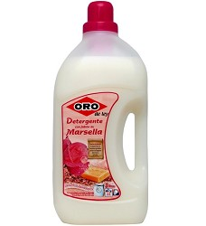 ORO tekutý prací prášek 3l/2,5l s Marseillským mýdlem