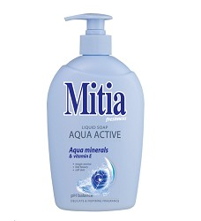 MITIA mýdlo tekuté 500ml/12 Aqua Active s vitamínem E