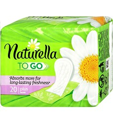 Vložky hygienické Naturella TO GO 20 ks Chanomile