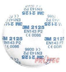Filtr FS 2125 proti částicím P2 ( balení 1 pár ) kompatibilní s 3M