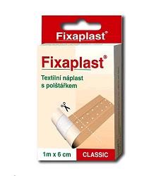 FIXAPLAST Classic náplast textilní krabička 1m x 6cm