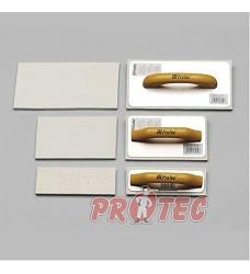 Hladítko PROTEC FILC 28x14 bílý 803012