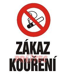 B.t.sam...Zákaz kouření ...A4